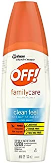 OFF! Family Care, Insect Repellent II Clean Feel, 6 oz