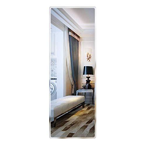 ZHAOJYZ Household Necessities/Frameless Wandspiegel Bedroom Wandsticker Slaapkamerspiegel compleet Lichaamsspiegel voor woonkamer zelfklevende spiegel