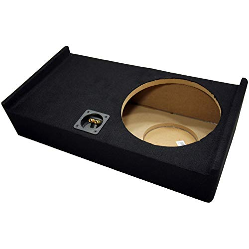"""Compatible with Ford F150 Super Crew Cab Truck 2009-2014 Single 12"""" Subwoofer Sub Box Speaker Enclosure"""