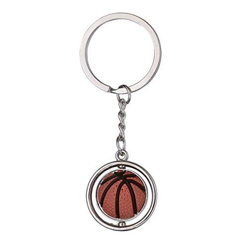 LUOEM Basketball Schlüsselanhänger Schlüsselring Metall Schlüsselbund Taschen Auto Schlüssel Charme Dekoration Geschenk