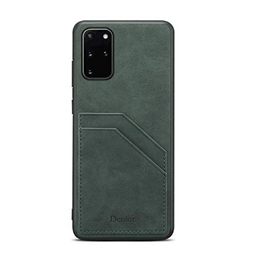 Leather Cover Compatible with iPhone 11 Pro Max, Card Holders Kickstand Premium Green Wallet Case for iPhone 11 Pro Max