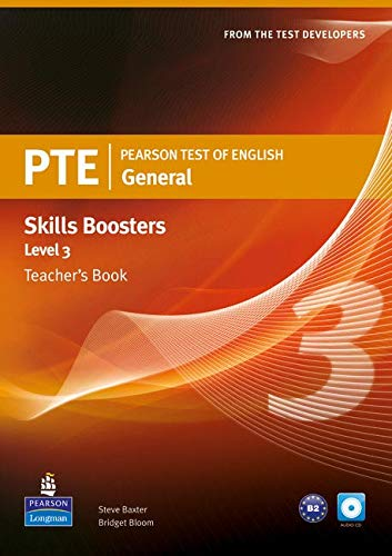 Pearson Test of English General Skills Booster 3 Teacher's Book and CDPack