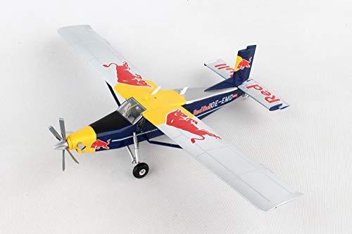 Herpa 580304 The Flying Bulls Pilatus PC-6 Turbo Porter OE-EMD (1:72)