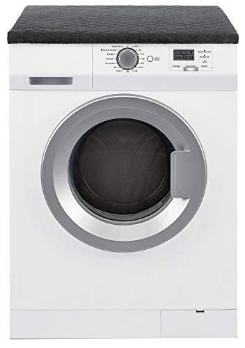 Brandsseller Trockner und Waschmaschinenschonbezug 100% Baumwolle ca.60x60x5 cm Anthrazit