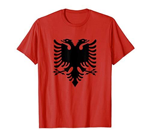 Albania Bandiera dell'aquila albanese Maglietta
