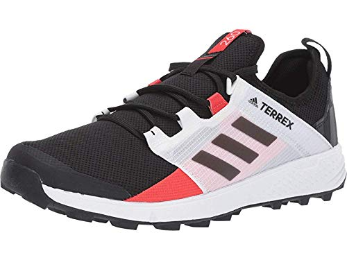 adidas outdoor Terrex Speed Ld Mens Trail Running Shoe Black/Black/Active Red, Size 11