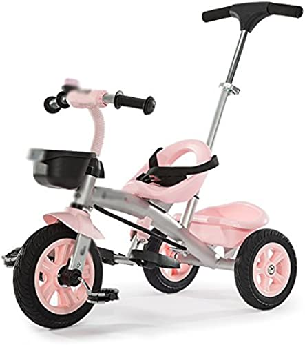 Kinder Dreirad Einzel Rod Umweltschutz Titan Leere Rad Trolley 3-7 Jahre Alt Fahrrad (Farbe   Rosa)