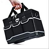 <span class='highlight'><span class='highlight'>ZJY</span></span> Multifunction Tool Bags Oxford Cloth Bag Top Wide Mouth Electrician Special Tool Kit Bags Waterproof Toolkit Tool Bags (Color : 20Inc)