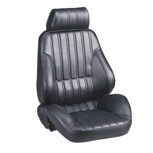 Scat ProCar 80-1000-51R Rally Series 1000 Black Vinyl Right Recliner Seat