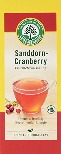 Lebensbaum Früchtetee Im Teebeutel - Sanddorn-Cranberry, 50 g