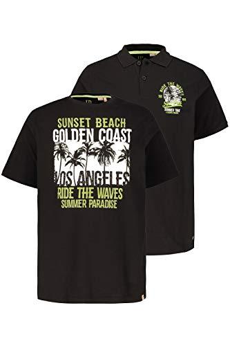 JP 1880 grote maten heren dubbelpak poloshirt, maten T-shirt