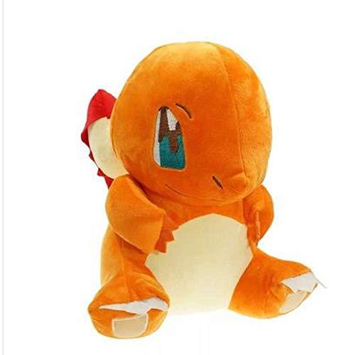 Pokemon Charmander Peluche de Pokémon para mascota, 30 cm, Pequeño dragón de fuego, 30 cm