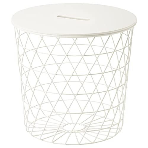 IKEA Kvistbro 303.494.52 - Mesa de almacenamiento, color blanco
