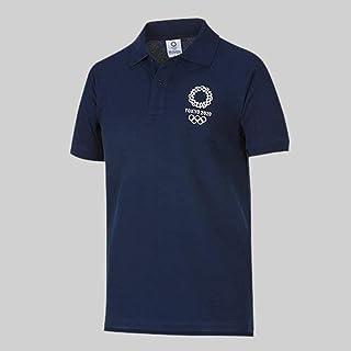 東京2020 オリンピック エンブレム ポロシャツ ネイビー