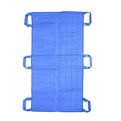 Colocación de la almohadilla de la cama Elevación de la hoja de transferencia del paciente Almohadilla giratoria lavable con mango reforzado para personas discapacitadas y mayores Traslados, giro, rep