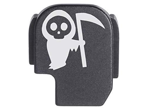 for Sig P365 Back Plate Rear Slide Cover Black NDZ - Grim Reaper Baby