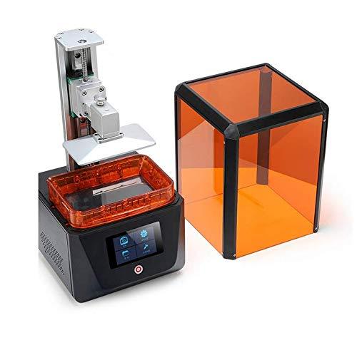 Stéréolithographie LCD Imprimante 3D 0.01mm Résine Sensible Aux UV 405μm Bureau Éducation Médical Industrie