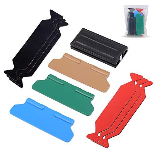 Winjun Car Wrapping Magnet Rakel Set mit unterschiedliche Härte und Microfaser Buffer Felt für Auto Folierungs Werkzeug