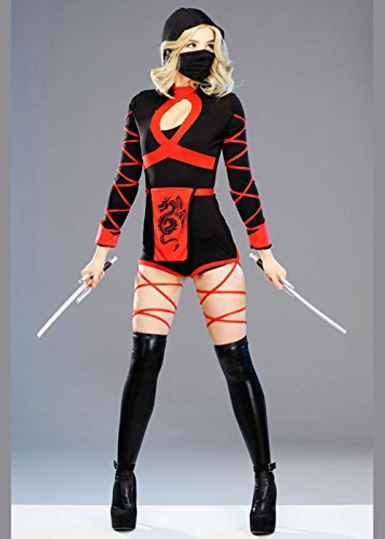 MagicBox Womens Short Dragon Ninja Costume S (UK 810)