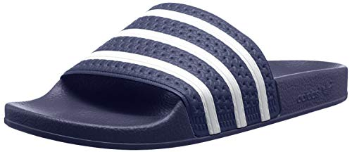 adidas Adilette Chanclas Hombre, Azul (Adiblu/White/Adiblu), 39 EU (6 UK)