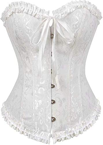 NJJX Underwear European And American Lace Belly Outlet ☆ Free Shipping Luxury goods Bridal Corsets