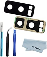 YUYOND OEM Original Back Rear Camera Glass Lens Replacement for Samsung Galaxy Note 8 (All Carriers) Adhesive Pre-Installed with Tools Kit and Clean Cloth