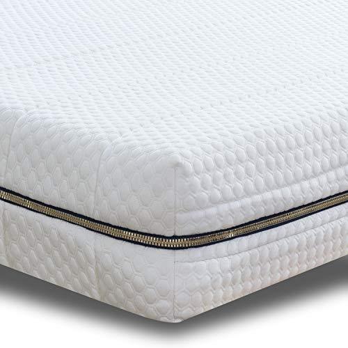 BedStory Sobrecolchón de espuma viscoelástica de 5 cm, 90 x 200 cm