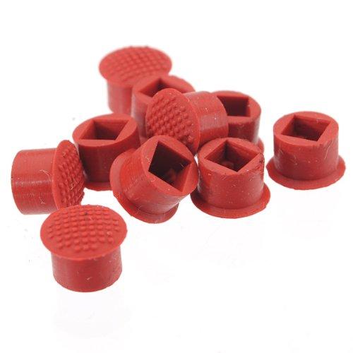 Cappucci TrackPoint mouse per IBM Lenovo Thinkpad A20,A21,A22,A30,A31, colore rosso, confezione da 5 pezzi