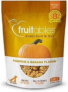 Fruitables Dog Treats Pumpkin & Banana Flavor, 7 oz