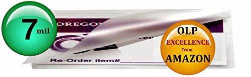 Qty 200 7 Mil 2x6 Bookmarks Laminating Pouches 2-1/4 x 6-1/4 Hot Laminator Sleeves