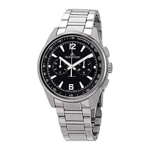 Jaeger LeCoultre Polaris Automatic Chronograph Black Dial Men's Watch Q9028170