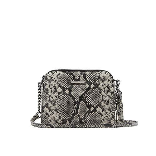 ALDO Women's Crodia Crossbody Bag, Snake Natural