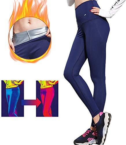 Mujer Deportivos Leggings Mallas Fitness Pantalones de Cintura Alta Pantalon Deporte Yoga Neopreno