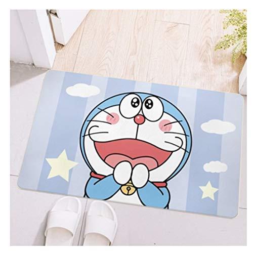 Maize store Alfombras Dormitorio De Los Niños Sala De Estar Estera del Piso Rectángulo Juego De Niños Dibujos Animados Doraemon Guardería Baño Cocina Rastreo De Bebés Decoración del Hogar Grande