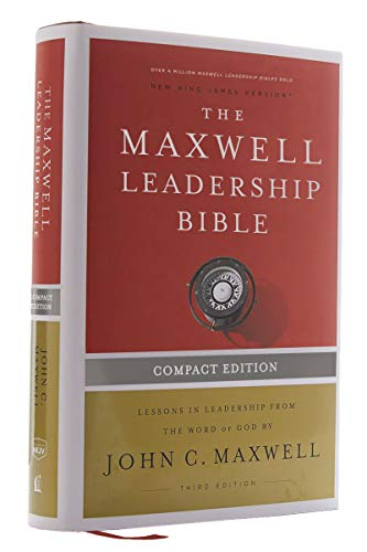 Compare Textbook Prices for NKJV, Maxwell Leadership Bible, Third Edition, Compact, Hardcover, Comfort Print: Holy Bible, New King James Version Compact Edition ISBN 9780785241850 by Thomas Nelson,Maxwell, John C.