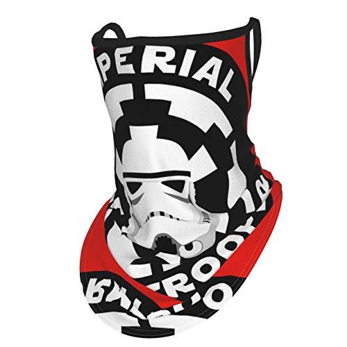 Storm—Trooper - Conjunto de polaina para el cuello unisex para hombres y mujeres, bandana multifuncional con trabillas para las orejas