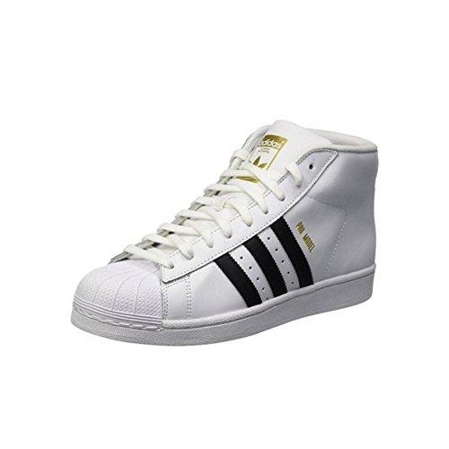 adidas Zapatillas Abotinadas Superstar Pro Model Blanco EU 37 1/3 (UK 4.5)