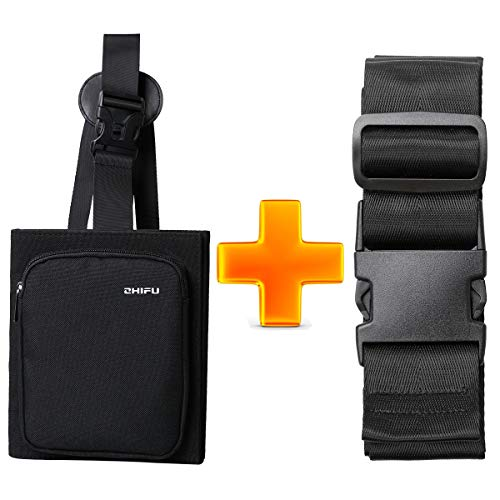 BOMKEE Bagage Bungee Bag Travel Packing Organizer Koffer Bungee Koord Houder Draagbare Secure Koffer Zijtas Reizen Accessoires met Bagage Riem