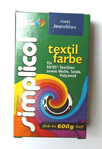 Simplicol  Restposten Textilfarbe 25g Jeansblau von Brauns-Heitmann 19,96€/100g