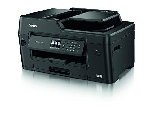 Brother MFC-J6530DW - Impresora multifunción de inyección de Tinta de tamaño A3 Negro Printer with Start Up Inks