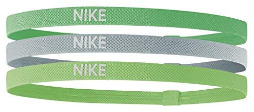 Nike 3 cintas elásticas para el pelo, 3 unidades, para tenis, running, deporte