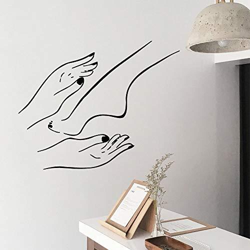 yaonuli Decorazioni per la casa per Unghie Decorazioni per la Camera dei Bambini Decalcomania da Muro 42X52cm