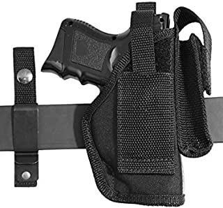 Barsony New Ambidextrous 360Carry 8 Option Holster w/Mag Pouch for Compact 9mm 40 45