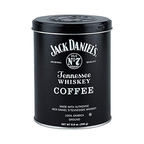8.8oz Jack Daniel's Tennessee Whiskey Ground Coffee with 4-Way Measuring Spoon