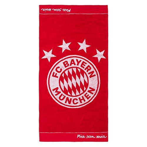 FC Bayern München Badetuch Emblem, 180x90cm