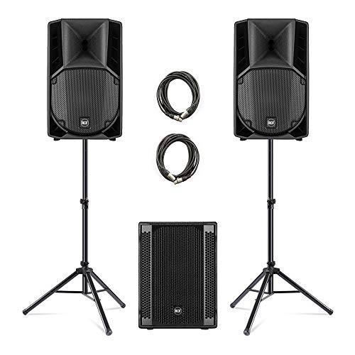 2x RCF ART-710A + 702-AS II Subwoofer PA-Paket