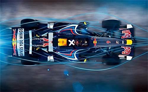 puzzle 1000 piezas,3D madera Rompecabezas 1000 tabletas Adultos juego Juguete puzzles,5 lo anterior años Niño La niña Cumpleaños Regalo,car Formula 1 Red Bull Racing(w50cmxh75cm)