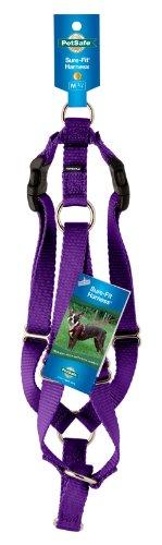 """PetSafe Surefit Dog Harness, 3/8"""" Petite, Deep Purple"""