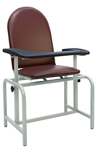 Winco 2573 Padded Vinyl Phlebotomy Blood Drawing Clinical Chair