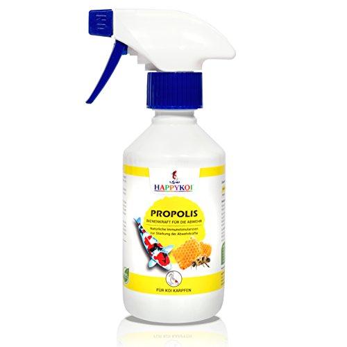 HAPPYKOI® Propolis Complément alimentaire liquide pour carpes koï (250 ml)